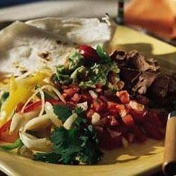Southern Living magazine's Fajitas Recipe