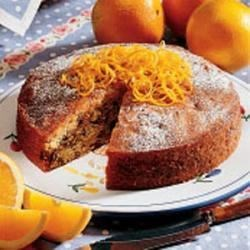 Orange Blossom Cake Recipe