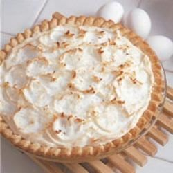 Photo of Old-Fashioned Coconut Pie by Barbara  Smith