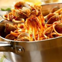 Photo of Linguine with Red Clam Sauce by Campbell's Kitchen