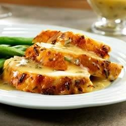 Photo of Lemon-Herb Roast Chicken with Pan Gravy by Campbell's Kitchen
