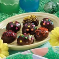 Photo of Crunchy Chocolate Eggs by Janis  Plourde