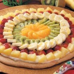 Photo of Fancy Fruit Pizza by Suzanne  Gruenbacher