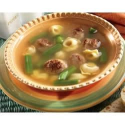 Italian Sausage and Tortellini Soup Recipe