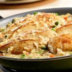 Chicken and Roasted Garlic Risotto Recipe