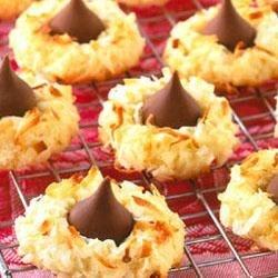 Photo of Macaroon Kiss Cookies by HersheysKitchens.com