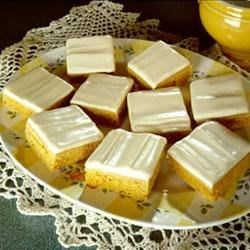 Photo of Iced Pumpkin Blondies by Libby's® Pumpkin