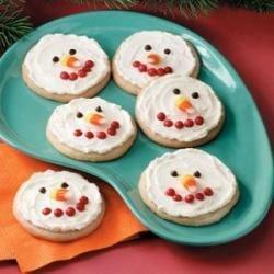 Photo of Snowman Sugar Cookies by Jean Wardrip Burr