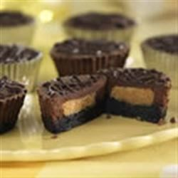 Peanut Butter Chocolate Cheesecake Cups Recipe