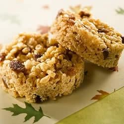 Photo of KELLOGG'S* RICE KRISPIES* Spicy Raisin Squares by KELLOGG'S* RICE KRISPIES*