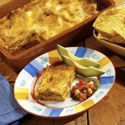 Southwest Sausage Lasagna Recipe