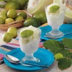 Photo of Lime Honeydew Sorbet by Taste of Home Test Kitchen