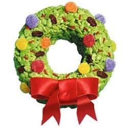 Kellogg's(R) Rice Krispies(R) Wreaths Recipe