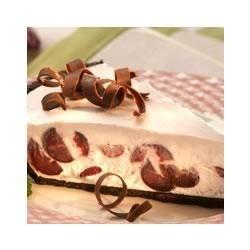 Photo of Frozen Cherry Cream Pie by EAGLE BRAND®