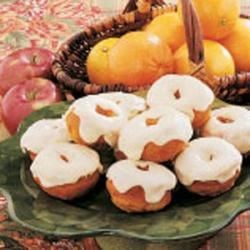 Photo of Frosted Pumpkin Doughnuts by Connie  Simon