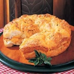 Photo of Pull-Apart Herb Bread by Evelyn  Kenney