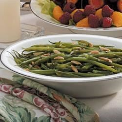 Photo of Thyme Green Beans with Almonds by Kenna  Baber