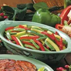 Photo of Grilled Peppers and Zucchini by Karen  Anderson