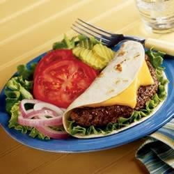 Cheeseburger Soft Tacos Recipe