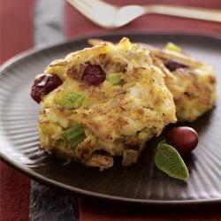 McCormick® Cranberry-Sage Mini Crab Cakes