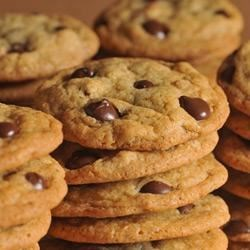 Original NESTLE(R) TOLL HOUSE(R) Dark Chocolate Chip Cookies Recipe