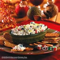 Holiday Pepper Cheese Dip Recipe
