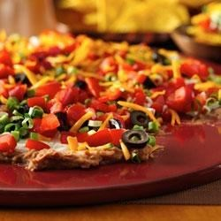 Layered Ranch Taco Dip Recipe