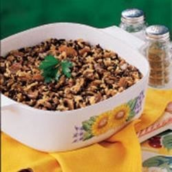 Photo of Mushroom Wild Rice Bake by Lynn  Kidder