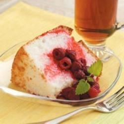Photo of Raspberry Angel Cake by Sheri Erickson
