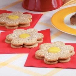 Photo of Lemon Curd Cookies by Carole  Vogel