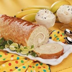 Photo of Caramel Banana Cake Roll by Taste of Home Test Kitchen