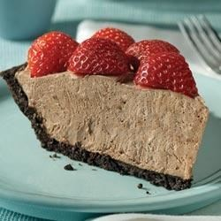 Chocolate-Berry No-Bake Cheesecake Recipe