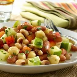 Three Bean Salad Recipe