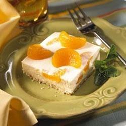 Mandarin Cheesecake Squares