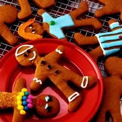 JIF(R) Gingerbread People Recipe