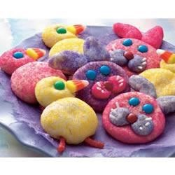 Bunny & Chick Cookies Recipe