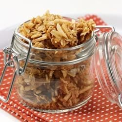 Almond Crunch Granola Recipe