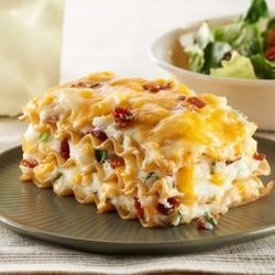 Photo of Easy Pierogi Casserole by KRAFT Shredded Cheese