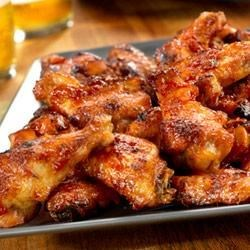 Picante-Glazed Chicken Wings Recipe