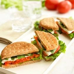 Caprese Salad-Style Sandwiches