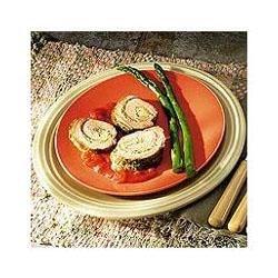 Stuffed Pork Tenderloin with Cilantro Lime Pesto Recipe
