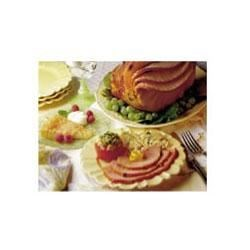 Raisin Chutney Glazed Ham Recipe