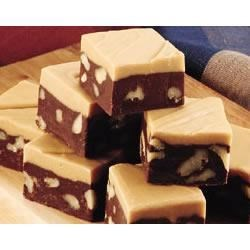 Photo of Chocolate and Butterscotch Fudge by EAGLE BRAND®