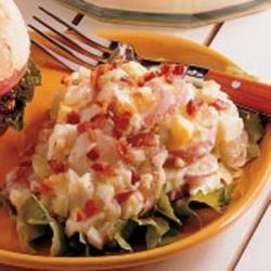 Photo of Microwave German Potato Salad by Barbara  Erdmann