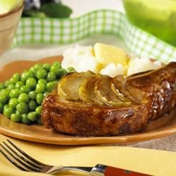 Apple-Glazed Pork Chops Recipe