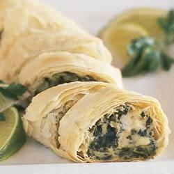 Photo of Make-Ahead PHILLY Spinach Phyllo Roll-Ups by Philadelphia Cream Cheese