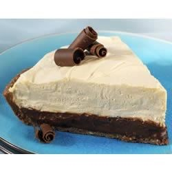 Photo of Chocolate Peanut Butter Mousse Pie by EAGLE BRAND®