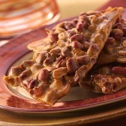 Sticky Sweet Peanut Brittle Recipe