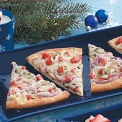 Photo of Blue Cheese Appetizer Pizza by Kathy  Stanaway