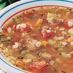 Photo of Beef Barley Soup by Taste of Home's Fast Family Favorites
